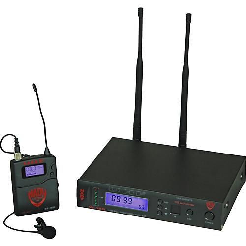 Nady W-1KU Omnidirectional Lavalier Wireless System Band 1