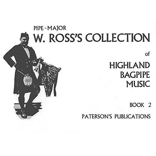 Paterson's Publications W. Ross's Collection of Highland Bagpipe Music (Book 2) Music Sales America Series-thumbnail