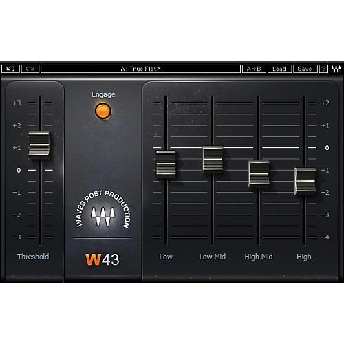 Waves W43 Noise Reduction TDM/SOUNDGRID Software  Download