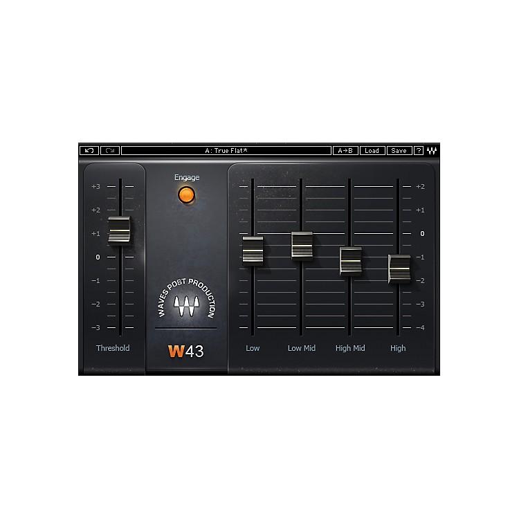 WavesW43 Noise Reduction TDM/SOUNDGRIDSoftware  Download