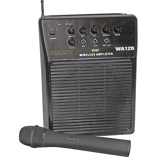 Nady WA-120 Portable PA System with Wireless Handheld Mic Band A