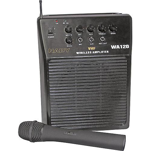 Nady WA-120 Portable PA System with Wireless Handheld Mic Band H