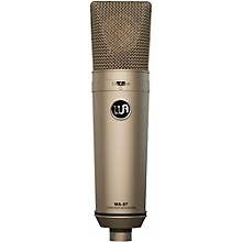Warm Audio WA-87 Vintage-Style Condenser Microphone Nickel
