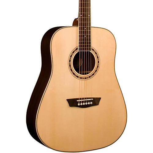 Washburn WD 20S Dreadnought Acoustic Guitar Natural