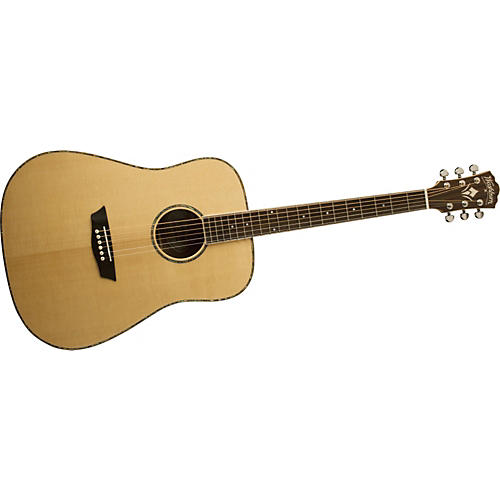 Washburn WD15S Solid Sitka Spruce Top Acoustic Dreadnought Mahogany Guitar