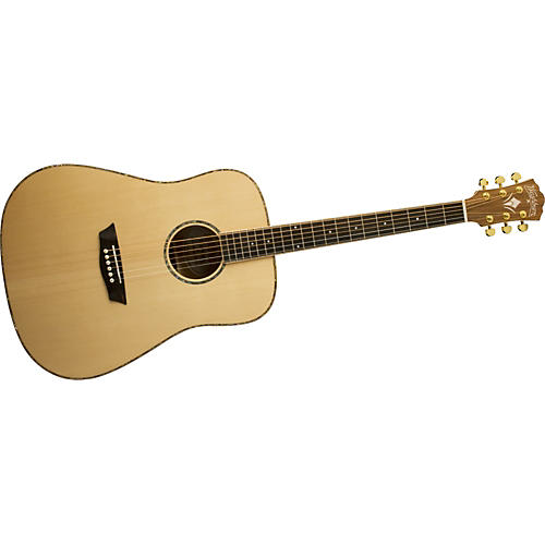 Washburn WD55S Solid Sitka Spruce Top Acoustic Dreadnought Koa Guitar