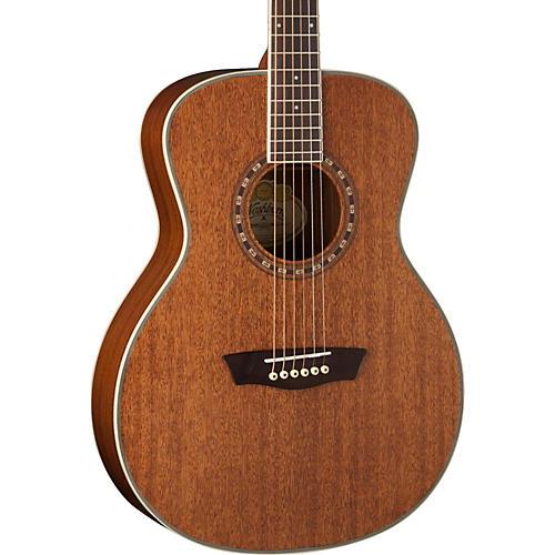 Washburn WF19S Mahogany Solid Top Folk Acoustic Guitar