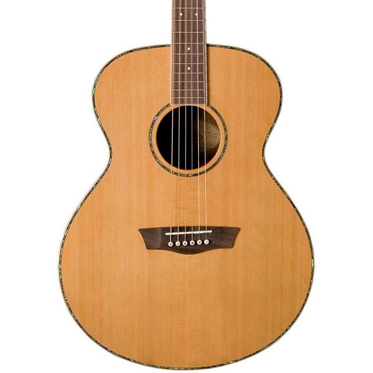 WashburnWG26S Solid Cedar Top Acoustic Grand Auditorium Rosewood GuitarNatural
