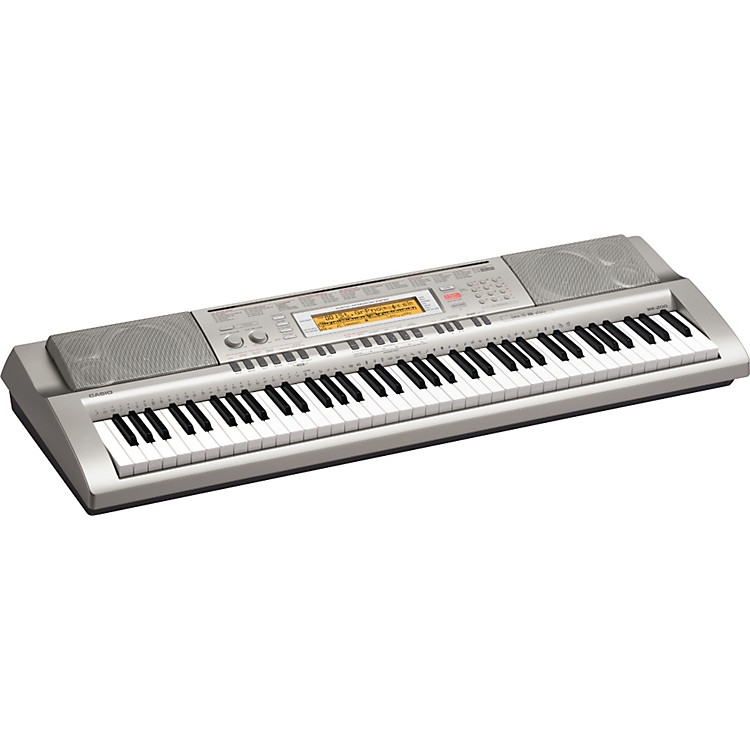 Casio WK-200 76-Key Digital Keyboard Workstation