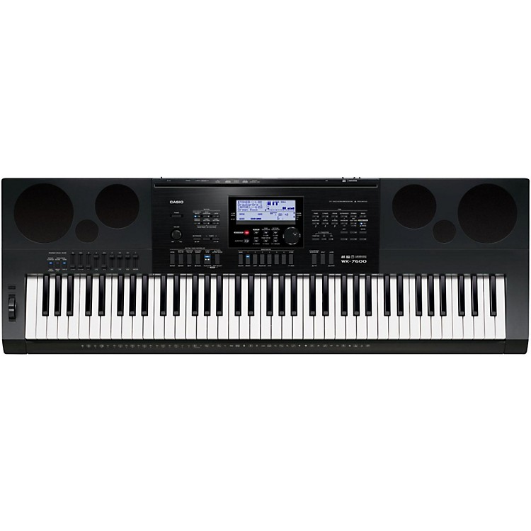 Casio WK-7600 76-KeyPortable Keyboard