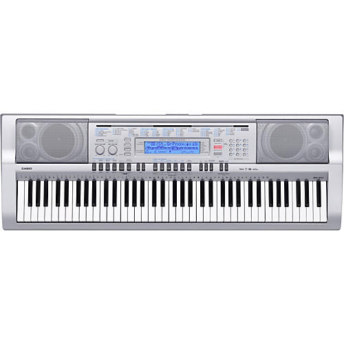 how to repeat recordin casio keyboard wk 500