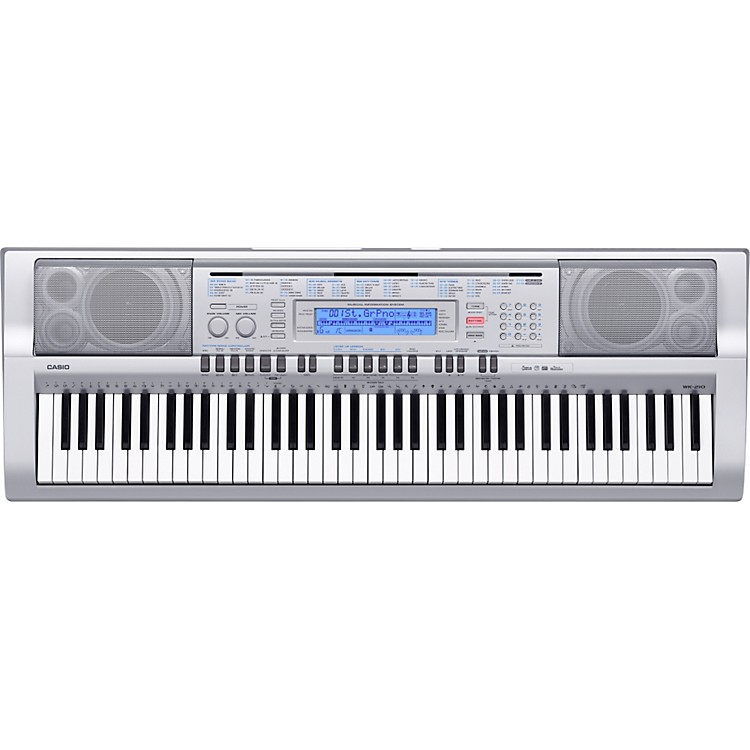CasioWK210 76-Key Digital Keyboard Workstation