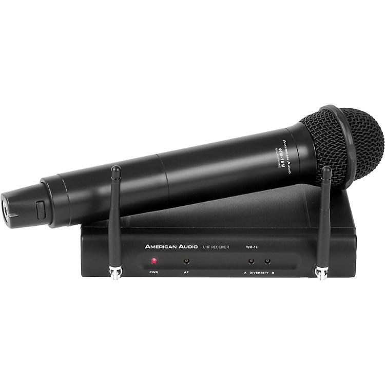 American AudioWM16HH 16 CH UHF Handheld Mic