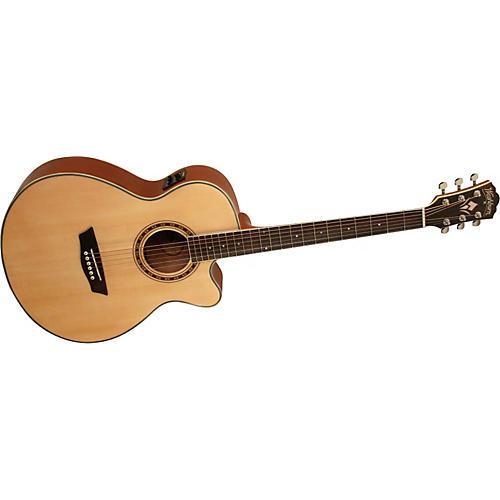 Washburn WMJ 10SCE Mini Jumbo Cutaway Acoustic-Electric Guitar