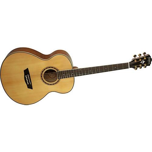 Washburn WMJ 30S Mini Jumbo Acoustic Guitar-thumbnail