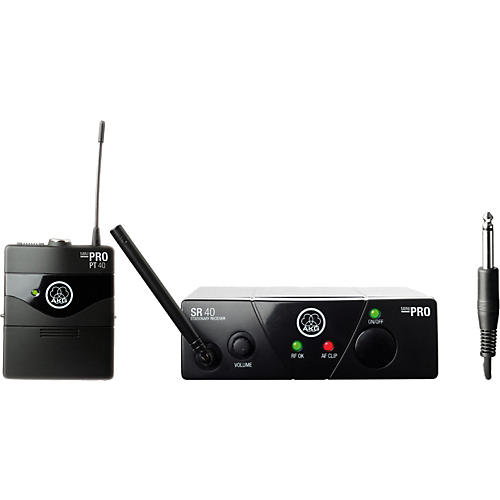 AKG WMS 40 Mini Instrument Wireless System Band C