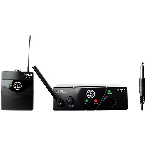 AKG WMS 40 Mini Instrument Wireless System Ch C with D8000M Handheld-thumbnail