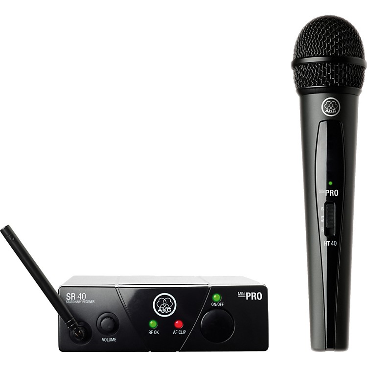 AKGWMS 40 Mini Vocal Wireless SystemCh B
