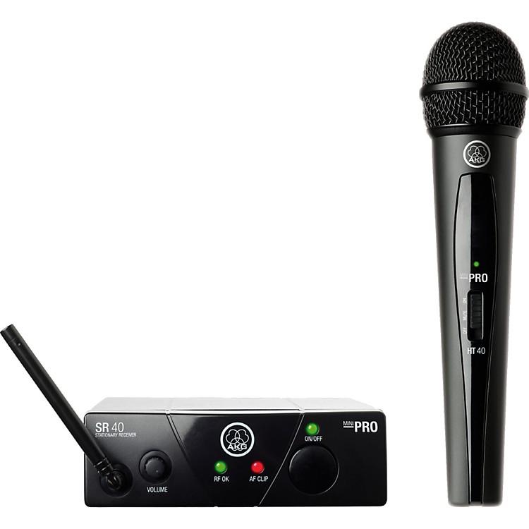 AKGWMS 40 Mini Vocal Wireless System