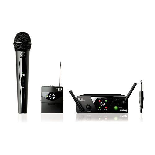 AKG WMS 40 Mini2 Vocal/Instrument Wireless Microphone Set