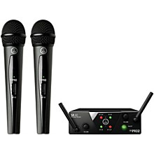 AKG WMS 40 Mini2 Vocal Wireless Microphone Set with D8000M Handheld