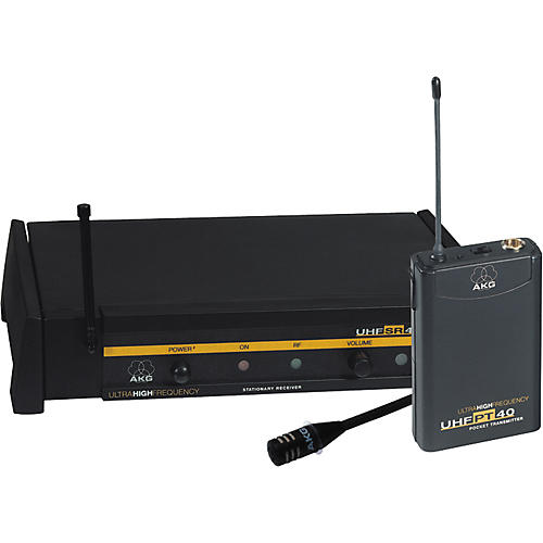 AKG WMS 40 UHF 407 Lavalier Microphone System