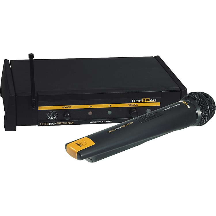 AKGWMS 40 UHF D 880 Handheld Mic System
