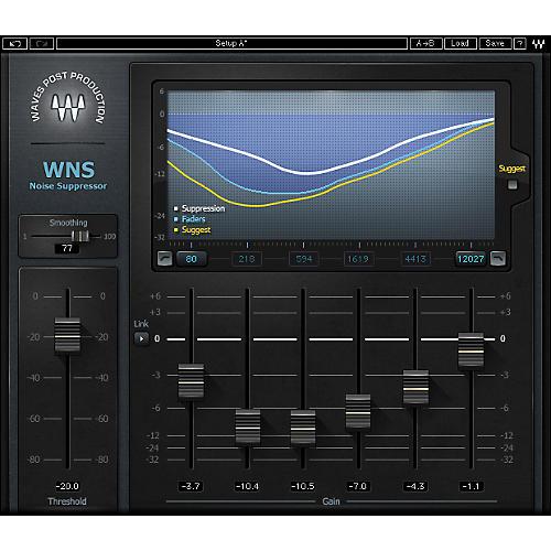 Waves WNS Noise Suppressor Native/TDM/SG Software  Download