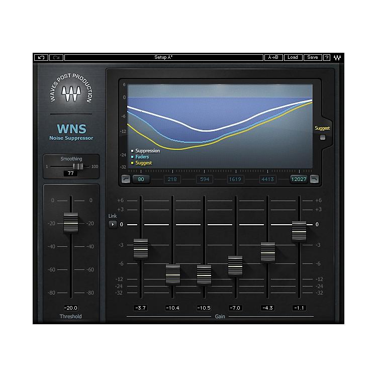 WavesWNS Noise Suppressor TDM/SOUNDGRIDSoftware  Download
