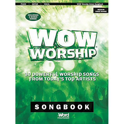 Word Music WOW Worship 2014 Songbook (Green) Sacred Folio Series Softcover Performed by Various-thumbnail