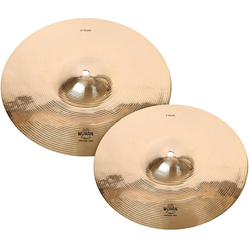 Wuhan WUSP0810 Traditional and Rock Splash Cymbal Pack