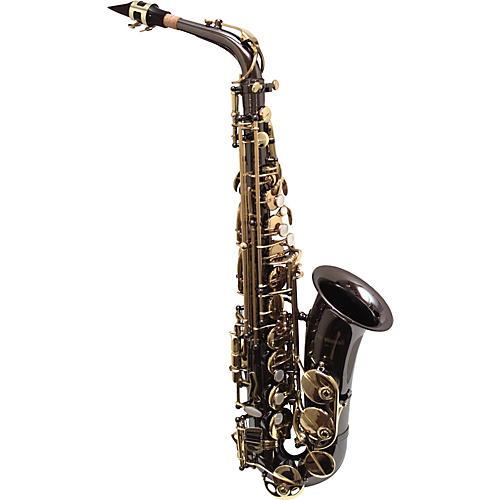 Vienna by Woodwind WWAS Black Nickel Intermediate Alto Saxophone