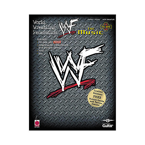 Cherry Lane WWF: The Music, Volume 3 Book