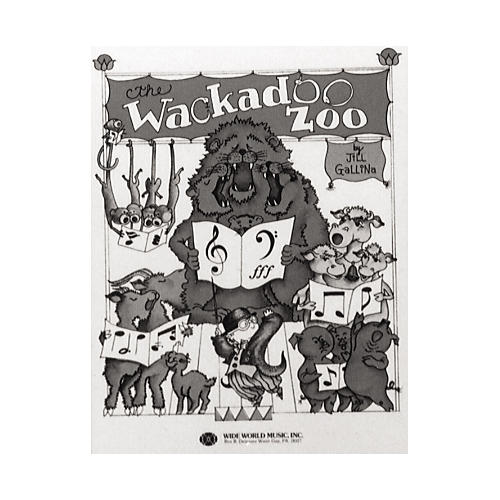 Shawnee Press Wackadoo Zoo (Book) Student Book