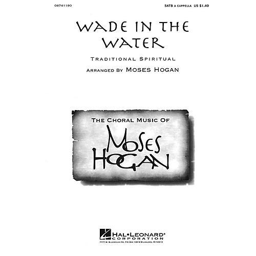 Hal Leonard Wade in the Water (SATB a cappella) SATB a cappella arranged by Moses Hogan-thumbnail