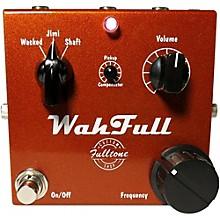 Fulltone Custom Shop WahFull Stompbox Wah Effects Pedal