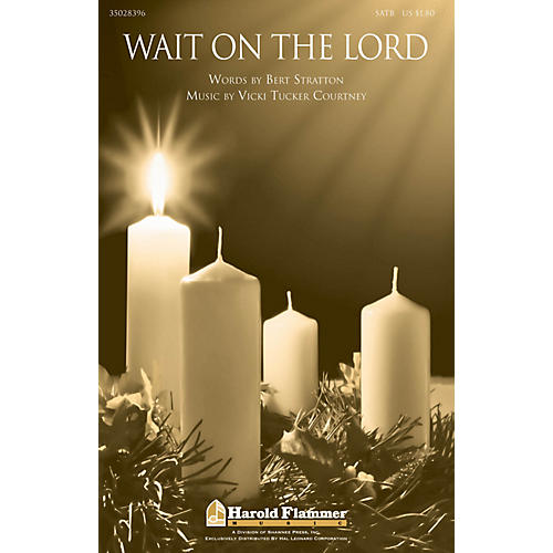 Shawnee Press Wait on the Lord SATB composed by Vicki Tucker Courtney-thumbnail