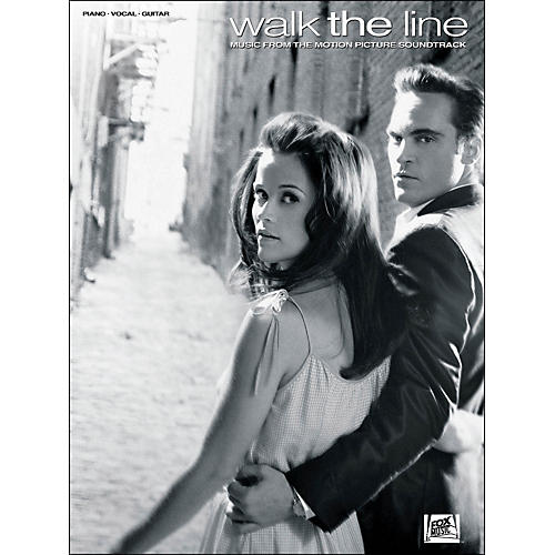 Hal Leonard Walk The Line - Music From The Motion Picture Soundtrack arranged for piano, vocal, and guitar (P/V/G)-thumbnail