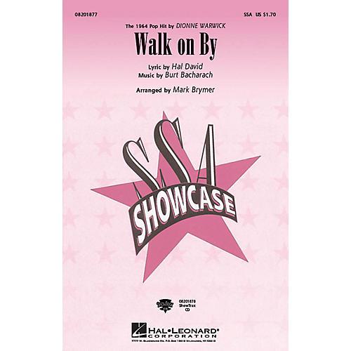Hal Leonard Walk on By SSA by Dionne Warwick arranged by Mark Brymer-thumbnail