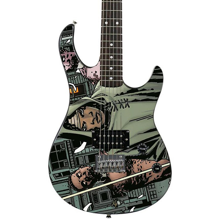 peavey walking dead rockmaster electric guitar michonne zombie musician 39 s friend. Black Bedroom Furniture Sets. Home Design Ideas