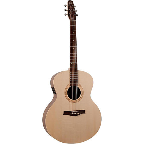 Seagull Walnut Mini Jumbo Acoustic-Electric Guitar
