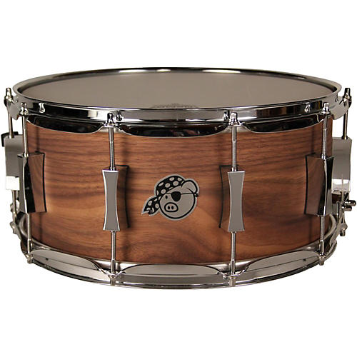 Pork Pie Walnut Snare Drum