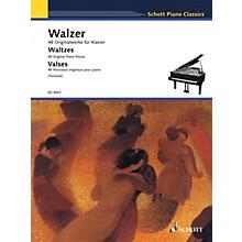 Schott Waltzes (48 Original Piano Pieces) Schott Series Softcover Composed by Various Edited by Monika Twelsiek