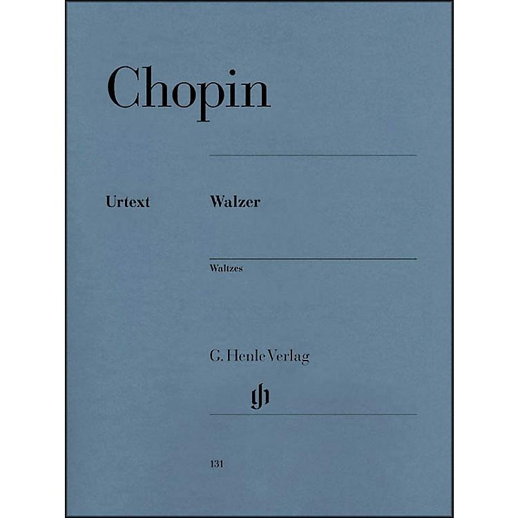 G. Henle VerlagWaltzes By Chopin