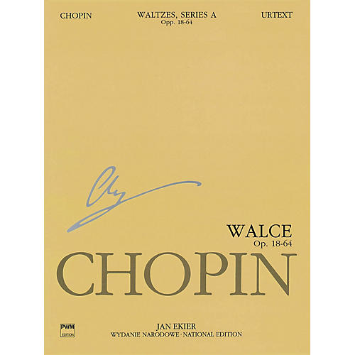 PWM Waltzes Op. 18, 34, 42, 64 (Chopin National Edition 11A, Volume XI) PWM Series Softcover-thumbnail