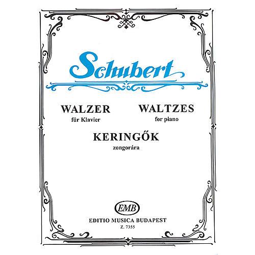 Editio Musica Budapest Waltzes-pno EMB Series by Franz Schubert
