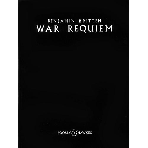 Boosey and Hawkes War Requiem, Op. 66 (1961-62) Vocal Score Vocal Score composed by Benjamin Britten-thumbnail