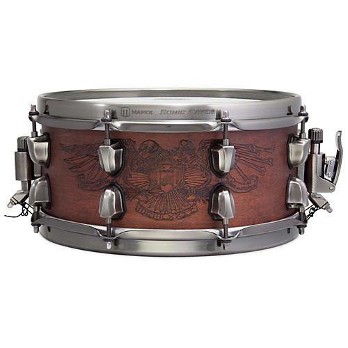 Mapex Warbird Chris Adler Artist Inspired Black Panther Snare Drum 12 x 5.5 in.