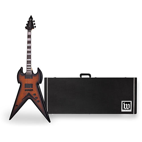 Wylde Audio Warhammer Electric Guitar with Wylde Audio Hardshell Wood Case-thumbnail