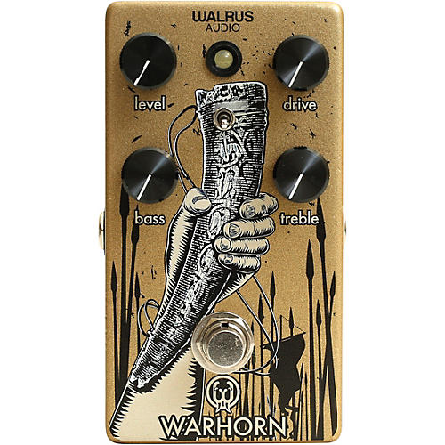 Walrus Audio Warhorn Overdrive Pedal-thumbnail